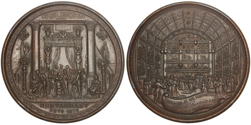 Holborn Restaurant medal