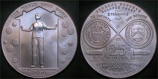 Dan Carr 2020 COVID-19 medal