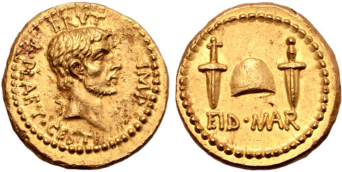 Gold Ides of March Coin