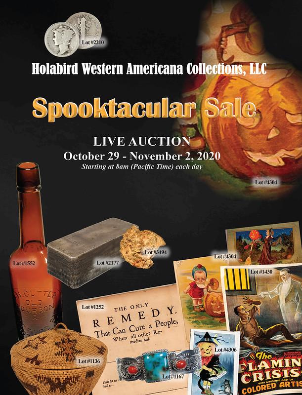 Holabird E-Sylum ad 2020-10-11 Spooktacular