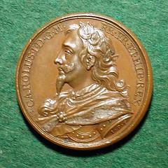 Charles I medal obverse