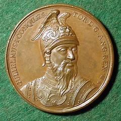 William the Conqueror medal reverse