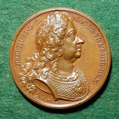 George I medal obverse