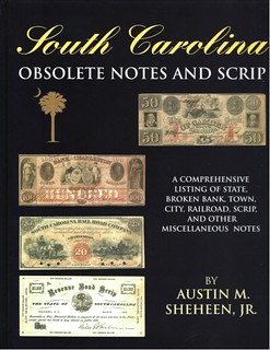South Carolina Obsolete Notes and Scrip book cover