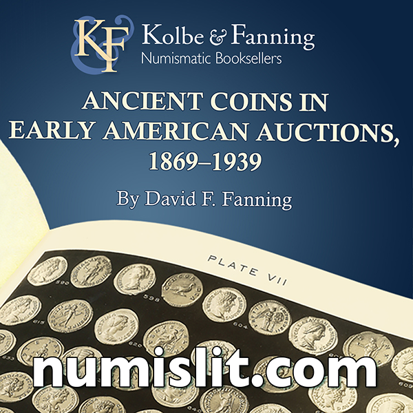 Kolbe-Fanning E-Sylum ad Ancient Coins v3 book
