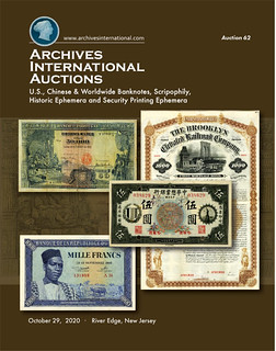 Archives International Sale 62 cover front