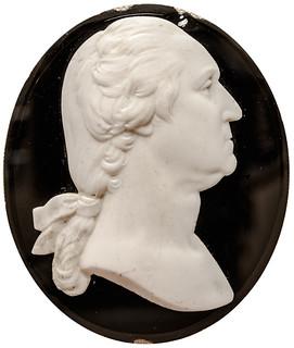 Oval George Washington Portrait Medallion