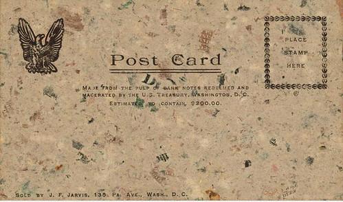 Macerated Money Postcard