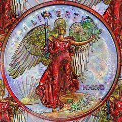 Edwin Johnson Money Art 1 Liberty