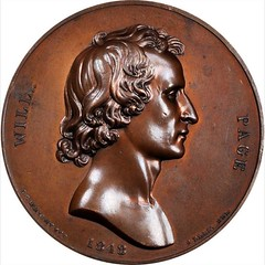 1848 Will Page Medal obverse