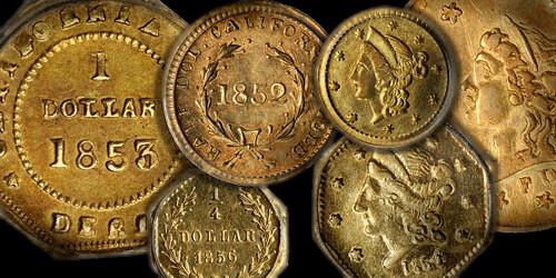 California fractional gold coins