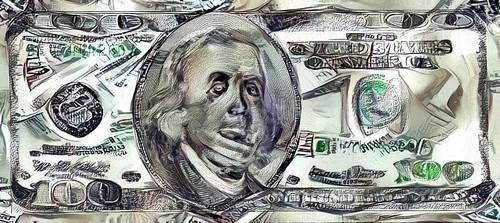 Edwin Johnson Money Art 2 banknote