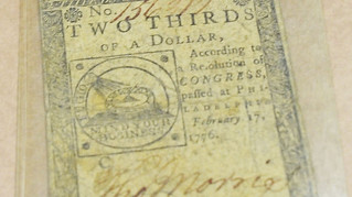Unclaimed Colonial Money