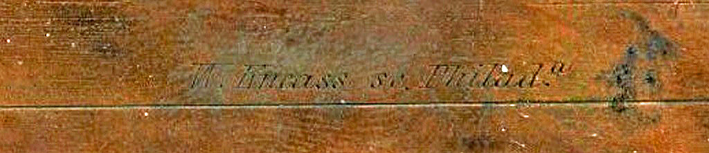 Kneass, Tennessee copper plate 931891_2