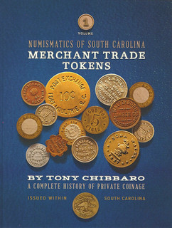 South Carolina Merchant Trade Tokens book cover