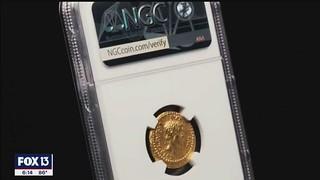 Gold EID MAR coin slab