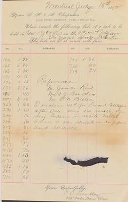 Tremblay Chapman letter
