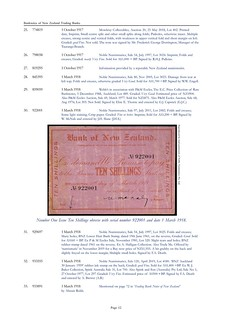 Banknotes of New Zealand Trading Banks Page 20