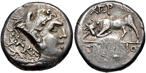 Tauric Chersonesus Trihemidrachm Head of Herakles