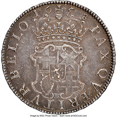Oliver Cromwell Crown 1658_7 XF45 NGC_Heritage_Auctions_2