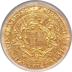 Elizabeth I (1558-1603) gold Sovereign of 30 Shillings ND (1584-1586) AU Details (Repaired) PCGS_Heritage_Auctions_2