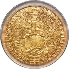 Elizabeth I (1558-1603) gold Sovereign of 30 Shillings ND (1584-1586) AU Details (Repaired) PCGS_Heritage_Auctions_1