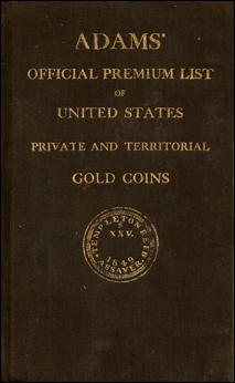 Edgar Adams Premium List