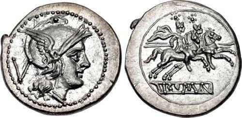 The First Roman Quinarius