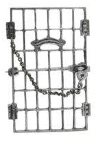 suffragette Jailed for Freedom sterling pin