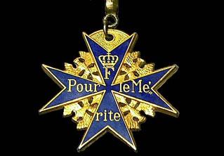 Blue Max medal copy