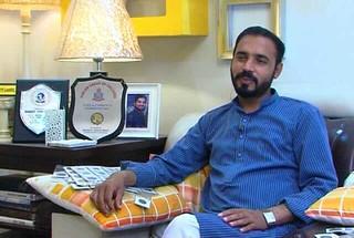 Pakistani numismatist Shakeel Ahmad Khan