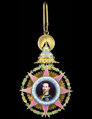 Thai Order of Chula Chom Klao medal