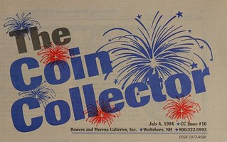 The Coin Collector July 4, 1994