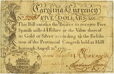 North Carolina August 21, 1775