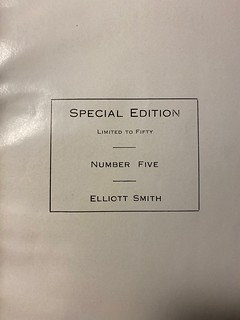 Elliott Smith special Adams-Woodin number page