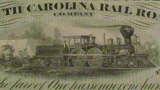 Confederate Treasure Train vignette