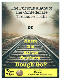 Confederate Treasure Train book cover