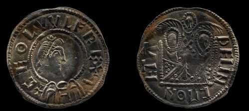 Coins of Ceolwulf II, of Mercia, and Alfred, of Wessex
