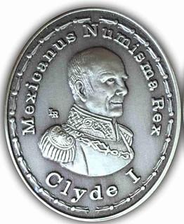 Clyde Hubbard - Medal 100 Años de Vida LR