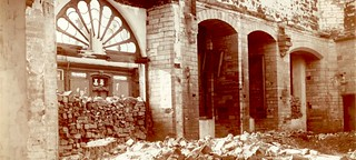 Library of Louvain destroyed