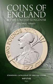 Coins of England 2021 Decimal issue book cover