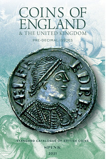 Coins of England 2021 book cover