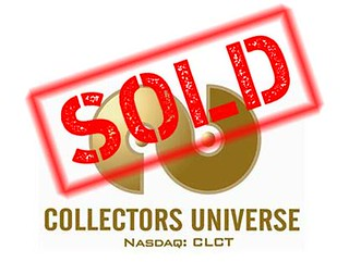 Collectors Universe SOLD