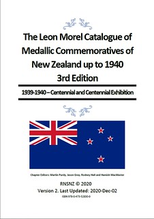 Morel catalogue of Medallic Commemoratives of New Zealand 3_1.2_cover