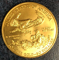 Salvation Army gold coin donation