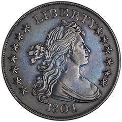 Driefus-Rosenthal ANS 1804 dollar obverse