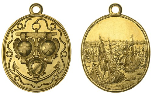 DNW 2021-01-21 LOT 1181 - Naval Reward medal 1