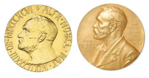 Nobel medal comparison