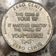 Zero cents token reverse