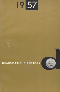 Numismatic Directory 1957 book cover